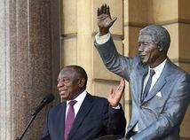 Cyril Ramaphosa / Juhoafrická republika / JAR / Nelson Mandela /