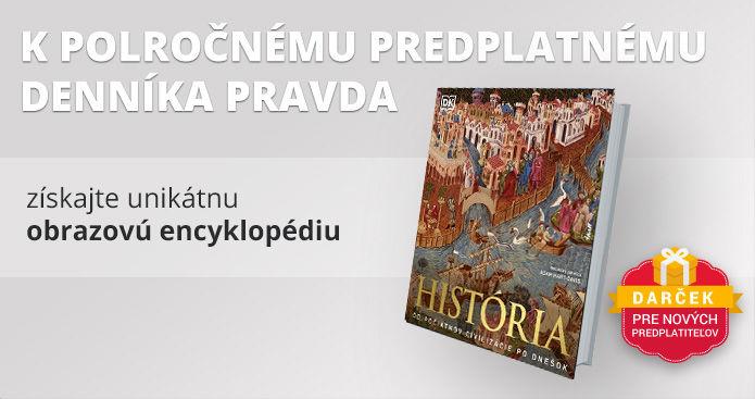 Polročné predplatné s encyklopédiou História