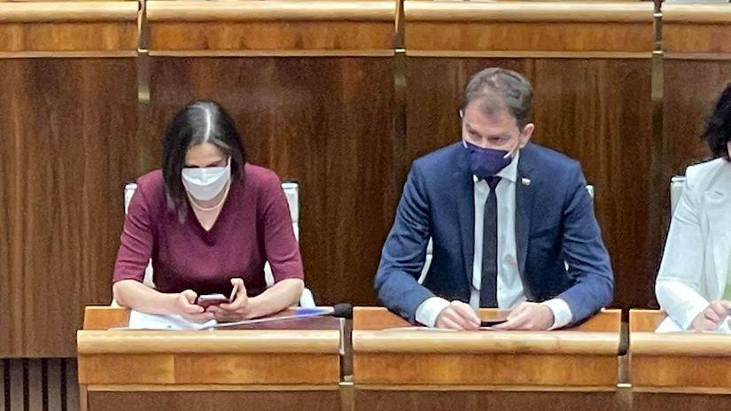 Mária Kolíková, parlament, Igor Matovič