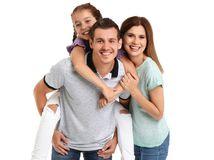 rodina, rodičia, dieťa, dievčatko, radosť, úsmev