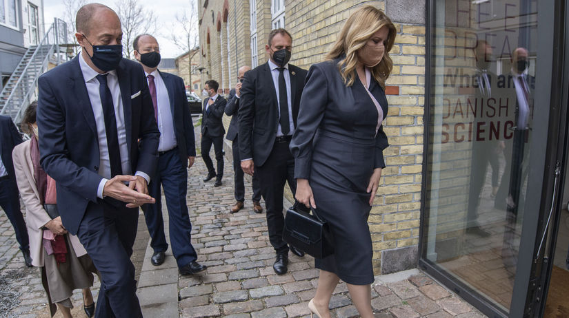 Dánsko SR prezidentka Čaputová návšteva