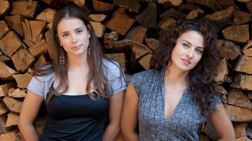 Gabriela Marcinková  a Lucia Siposová