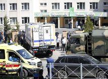 Pri streľbe na škole v Kazani zomrelo deväť ľudí, 21 je zranených
