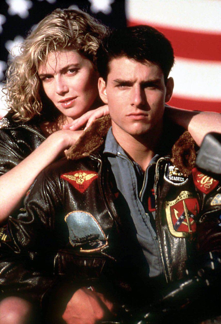 Tom Cruise  a Kelly McGillis