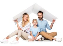 rodina, dom, bývanie, strecha
