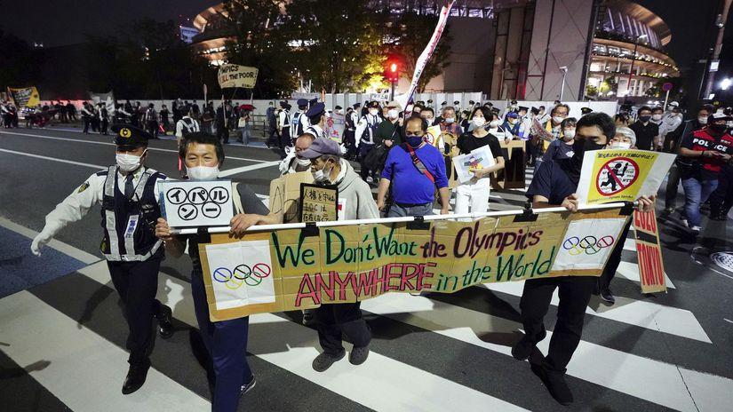 Tokio, protest