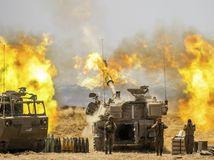 Izrael Palestínčania armáda útok raketový