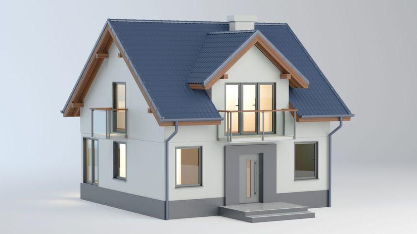 rodinný dom, model