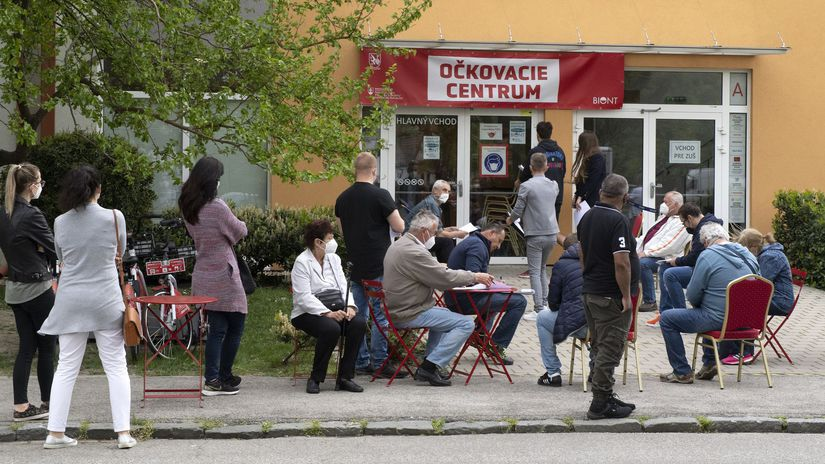 Bratislava Vajnory očkovacie centrum