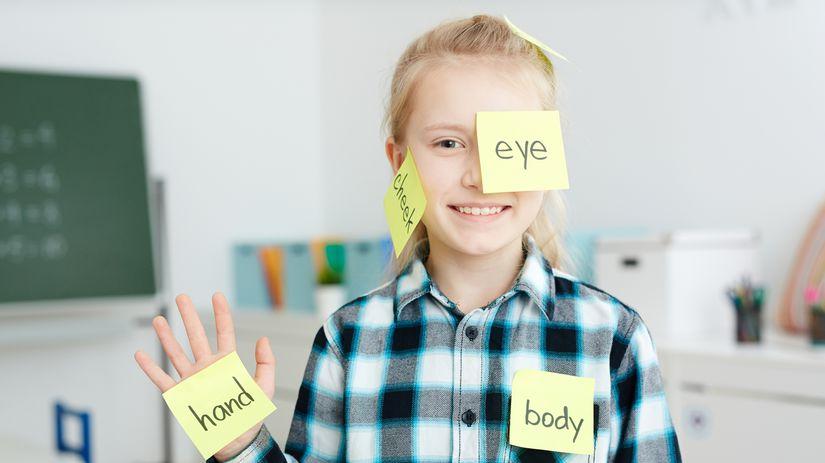 dieťa, angličtina, slovíčka, cudzí jazyk,...