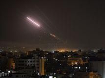 gazy gaza rakety izrael palestína