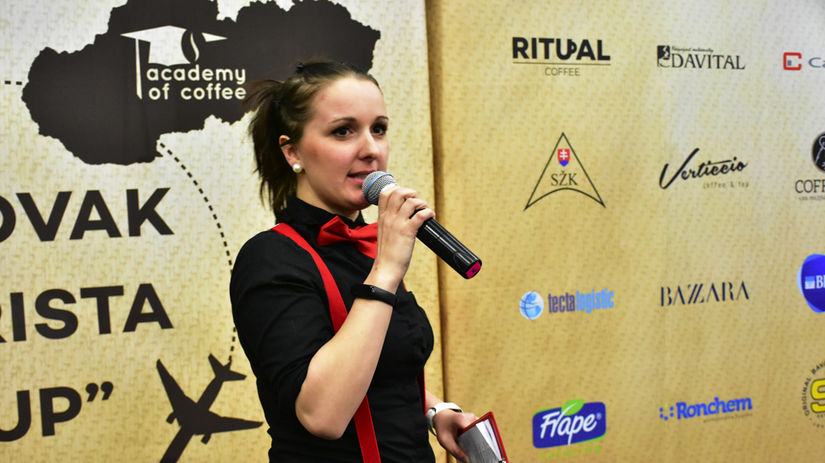 Nikoleta Šalmíková, baristka