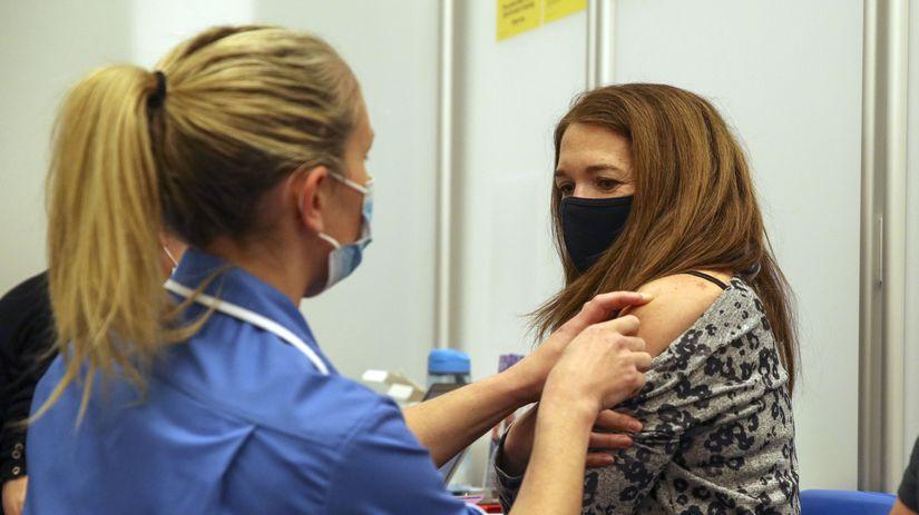 Británia Anglicko koronavírus Moderna očkovanie...