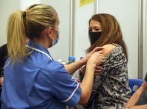 Británia Anglicko koronavírus Moderna očkovanie začiatok