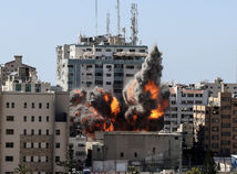 Izrael zničil náletom v Gaze budovu, kde sídlili zahraničné médiá
