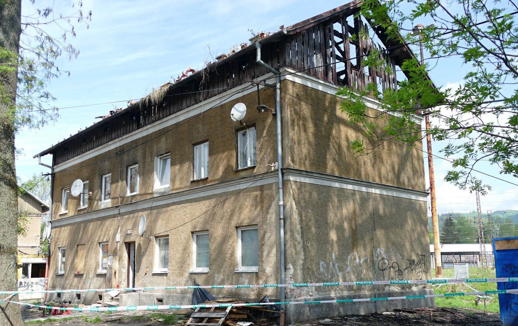 HaZZ Žilina požiar obytný dom bytovka