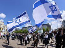 nemecko protest izrael