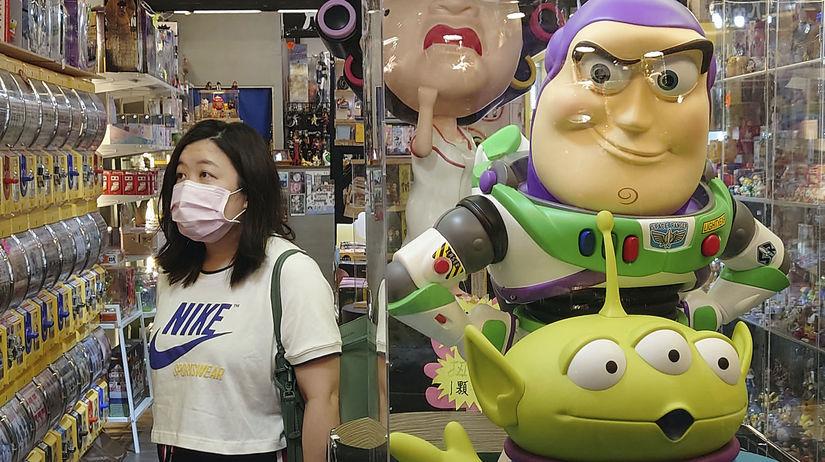 Obchod v Taipei na Taiwane