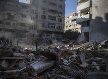 izrael ruiny bombardovanie gaza