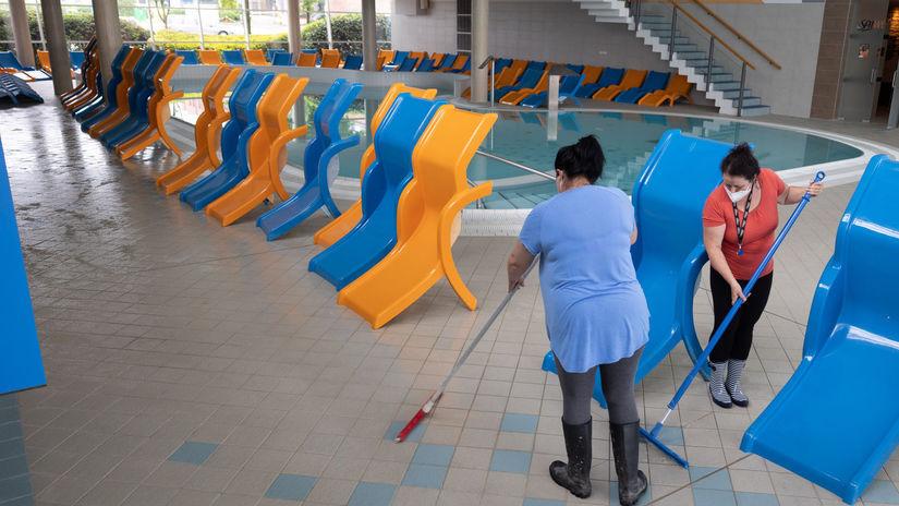 Senec, otvorenie, aquapark