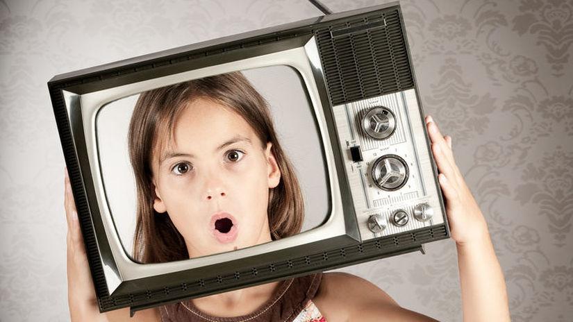 dieťa, televízia