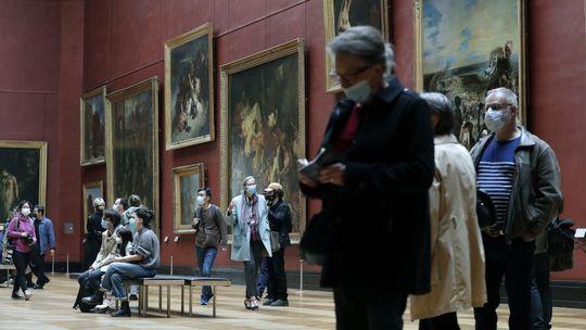 louvre paríž múzeum obrazy