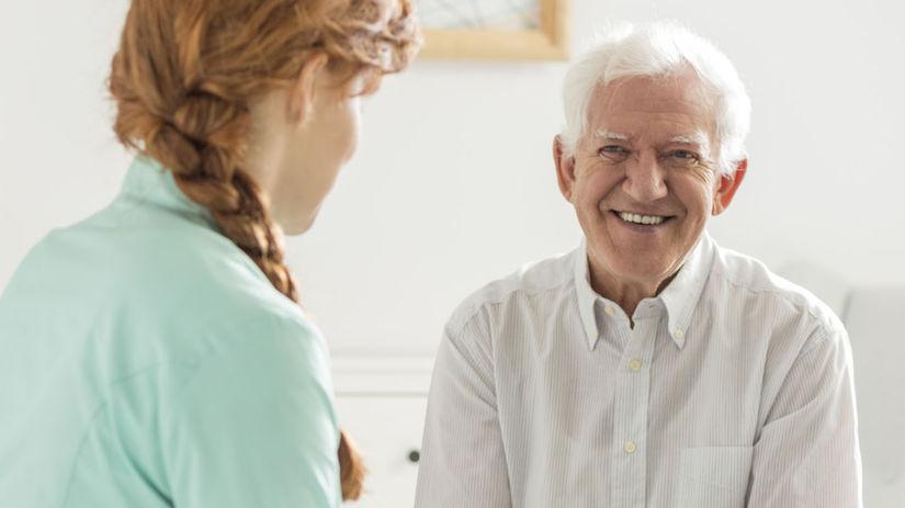 seniori, dôchodcovia, opatrovanie, sestrička,...