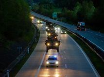 armáda, konvoj, Česko, NATO, USA