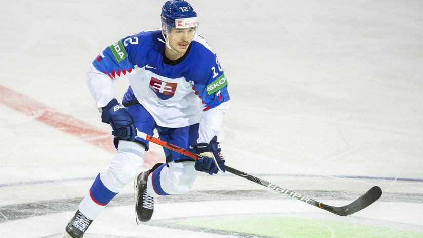 Lotyšsko MS2021 Hokej A Slovensko Rusko Kelemen