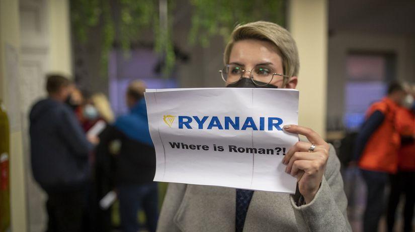 Litva / Bielorusko / Pratasevič / Ryanair /