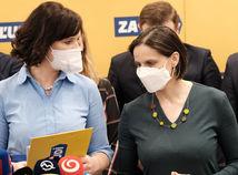 Veronika Remišová a Mária Kolíková