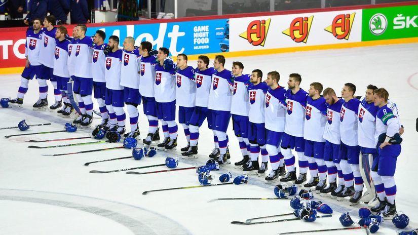 Lotyšsko MS2021 Hokej A Slovensko Dánsko