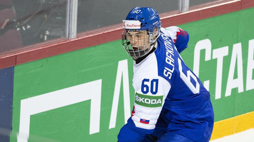 Slafkovský Hokej A SR Švédsko Slovensko