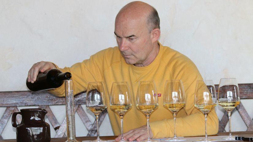 Vladimír Mrva, vinár
