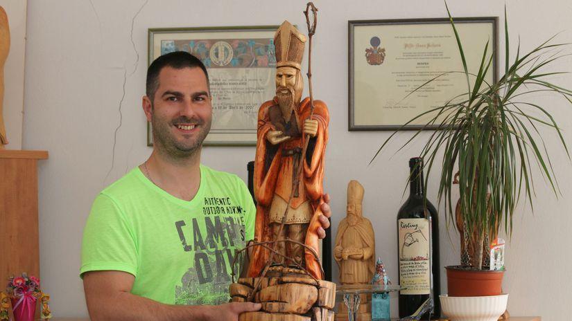 Peter Fülöp, svätý Urban, ochutnávka vín, degustácia, Malokarpatská vínna cesta