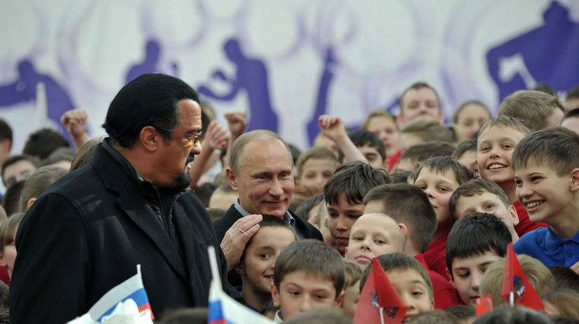 Vladimir Putin / Steven Seagal /