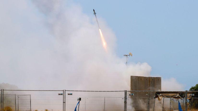 Izrael, Aškelon, Iron Dome, Železná kupola, raketa