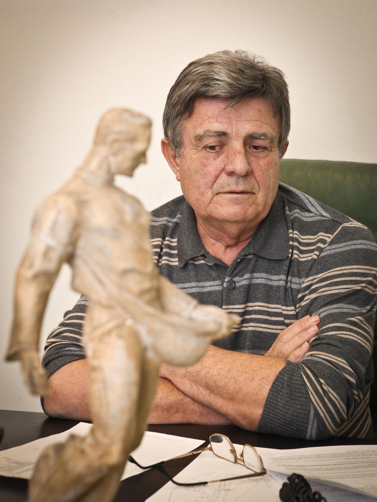Ján Domin, zakladateľ biovinárstva na Slovensku.