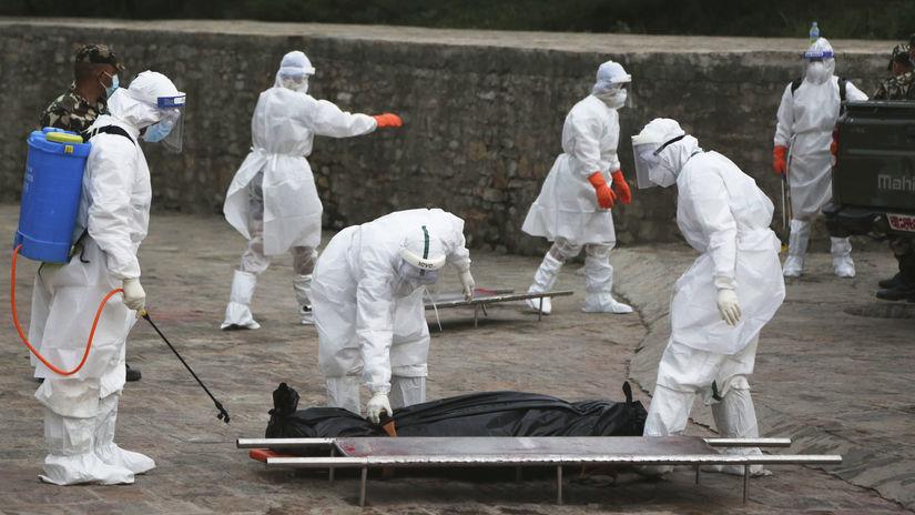 pandémia, koronavírus, Nepál