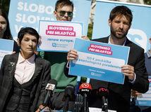 PS progresívne slovensko šimečka bihariová