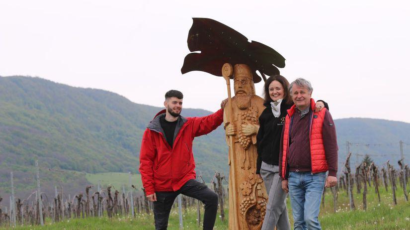 svätý Urban, rodina, vinári, Dominus, David Kušický, Diana Kušická, Tibor Kušický