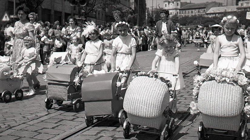 MDD, Bratislava, oslava, deti, kočíky