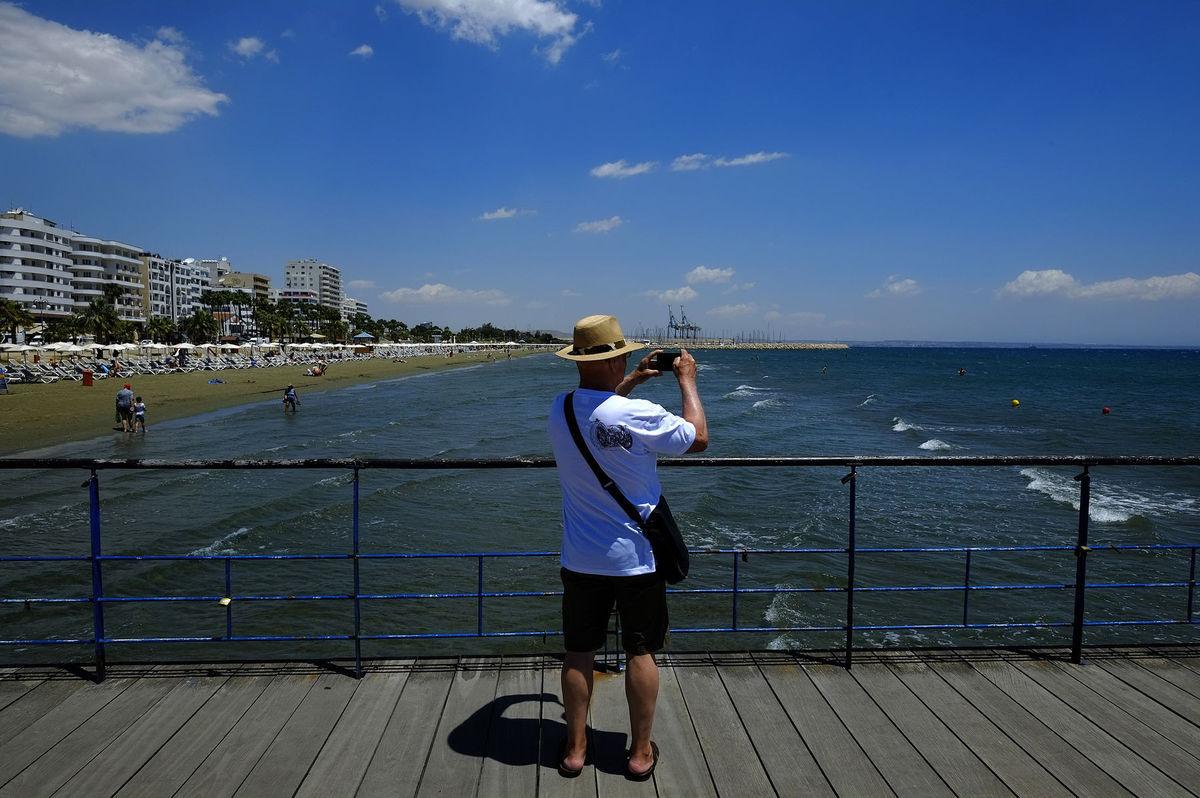 Cyprus, turista, fotografovanie, fotograf, fotenie, fotka,