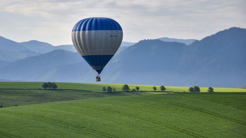 Liptovský Mikuláš Liptov, balón