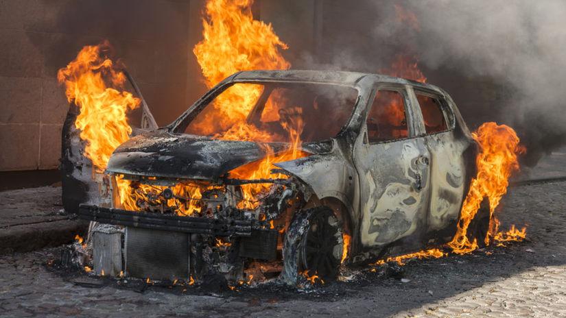 Chevrolet Bolt - požiar