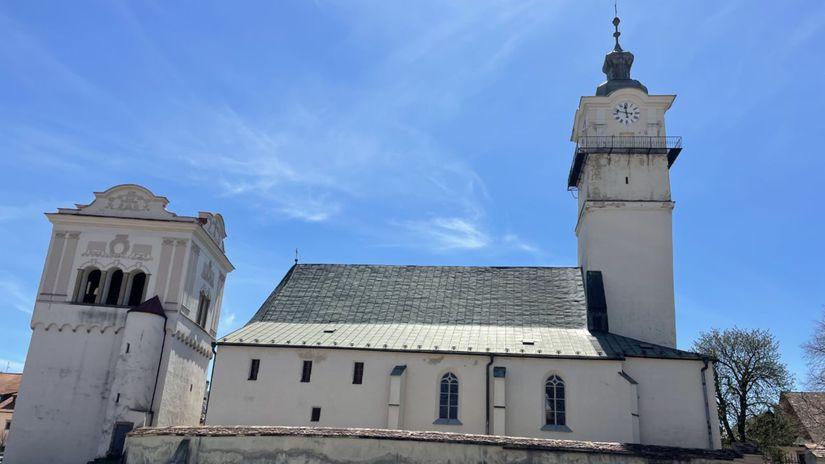 kostol sv. Juraja Spišská Sobota
