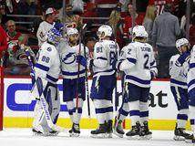 USA Hokej NHL Play Off 2. kolo tampa černák