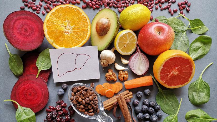 pečeň, diéta, zdravá strava