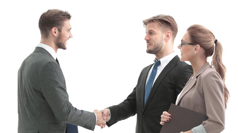 dohoda, trojica, partneri
