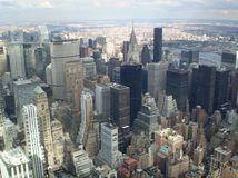Empire State Building - výhľad na Manhattan